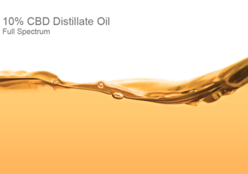 10% CBD Distillate Oil