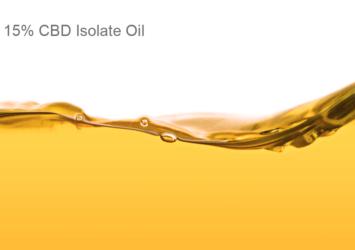 15% CBD Isolate Oil