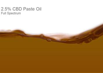 2.5% CBD Paste Oil