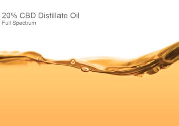 20% CBD Distillate Oil