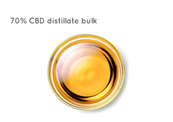 70% CBD distillate bulk