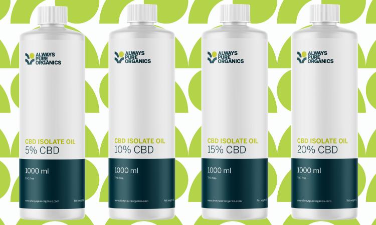 CBD isolate oil bulk UK