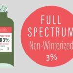 Non-Winterized CBD Oil 3% - Cantopia