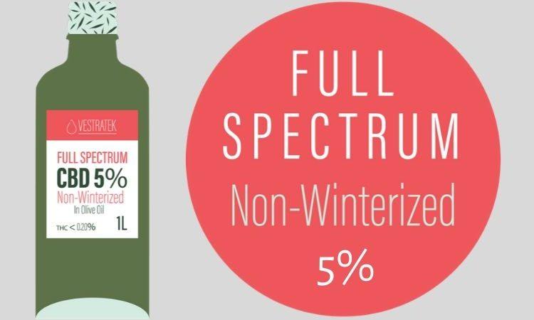Non-Winterized CBD Oil 5% - Cantopia