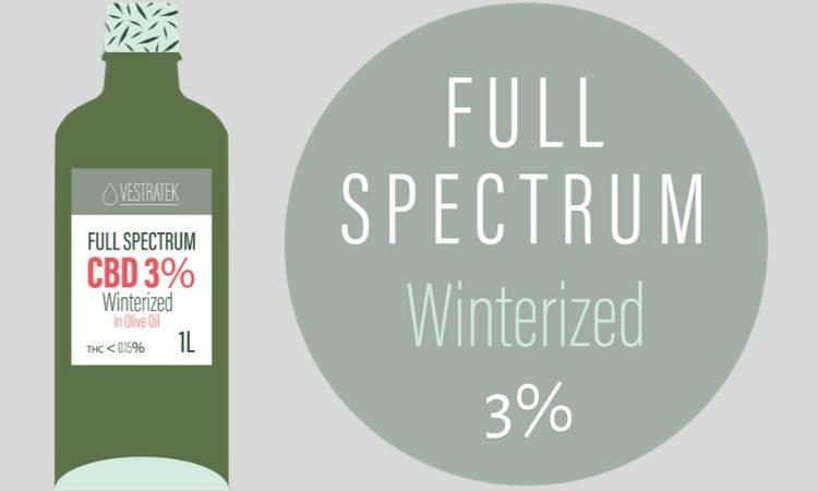 Winterized CBD Oil 3%