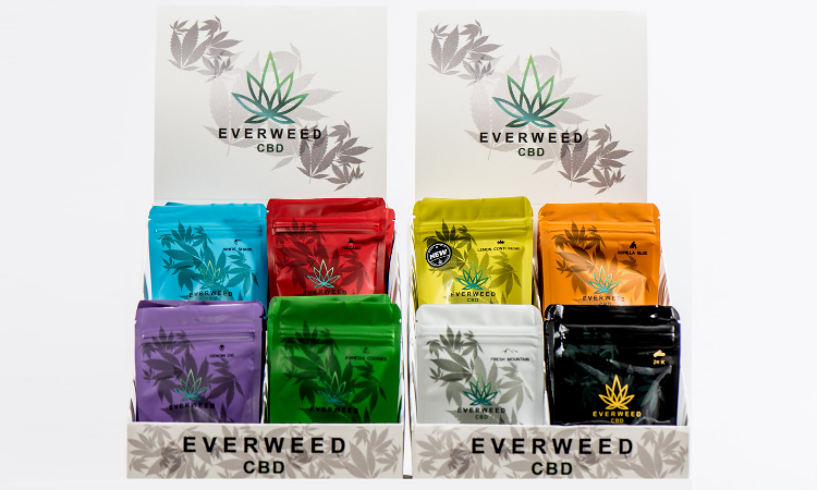CBD flower collection Everweed