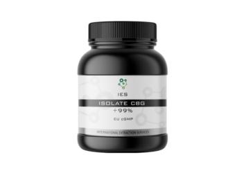 CBG isolate 98% EUGMP wellness grade greece