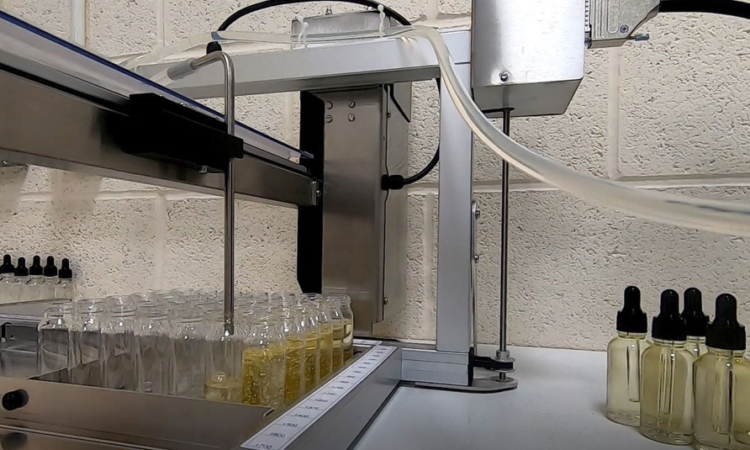 adelphi xyz distributor & accuramatic pump for CBD oils